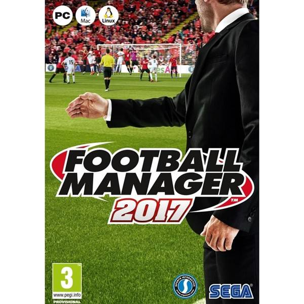 Hra Sega PC Football Manager 2017 Limited Edition (420011)