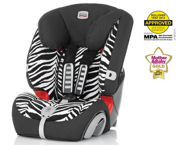 autoseda ka britax r mer evolva 123 plus 2014 zebra 9 36. Black Bedroom Furniture Sets. Home Design Ideas