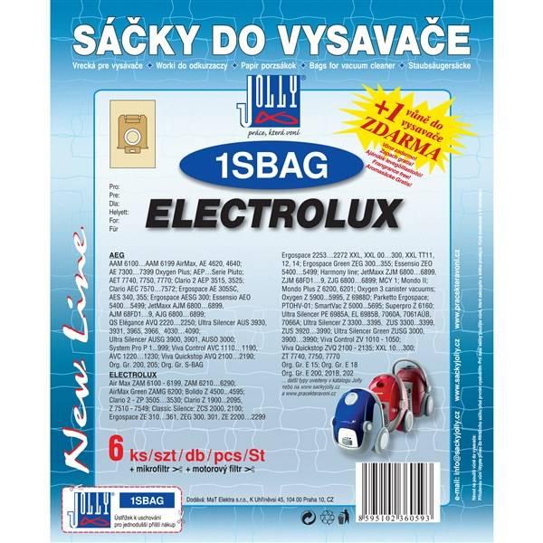Sáčky pre vysávače Jolly 1 S-BAG
