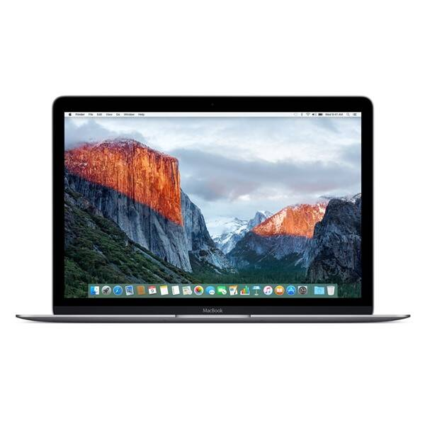 Notebook Apple Macbook 12'' 512 GB SK verze - space gray (MNYG2SL/A)