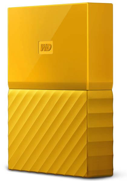 Externý pevný disk Western Digital My Passport 4TB (WDBYFT0040BYL-WESN) žltý