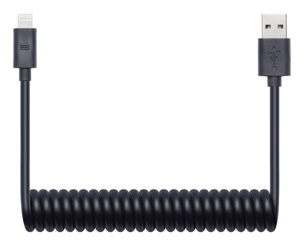 Kabel Connect IT Wirez USB/Lightning, 1,2 m (CI-682) černý