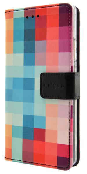 Pouzdro na mobil flipové FIXED Opus Opus pro Huawei P10 Lite - dice (FIXOP-194-DI) (vrácené zboží 8800228883)