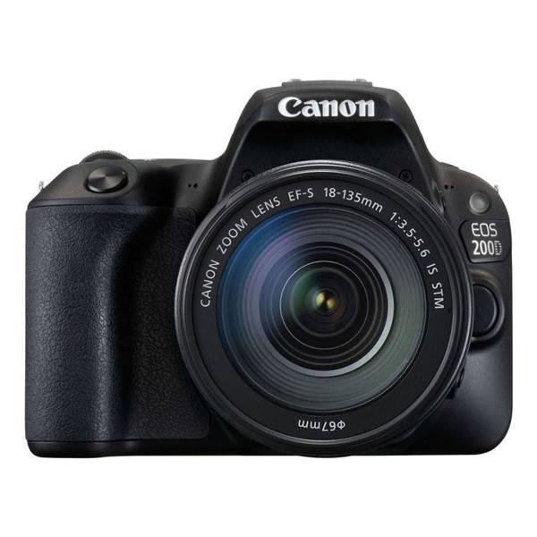 Digitální fotoaparát Canon EOS 200D + 18-135 IS STM (2250C028) černý