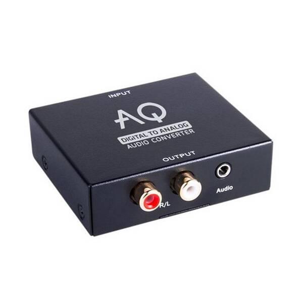 DAC převodník AQ AC01DA (6ac01da) černý (vrácené zboží 8800263028)