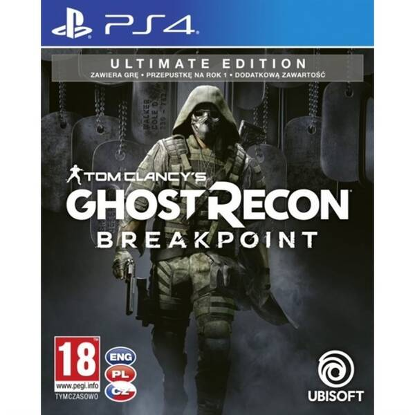 Hra Ubisoft PlayStation 4 Tom Clancy's Ghost Recon Breakpoint Ultimate Edition (USP407360)