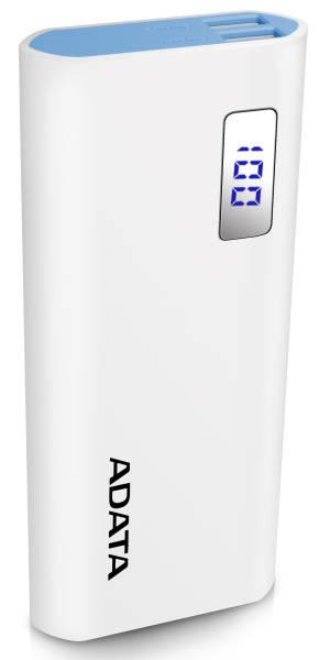 Powerbank ADATA P12500D 12500mAh (AP12500D-DGT-5V-CWH) bílá