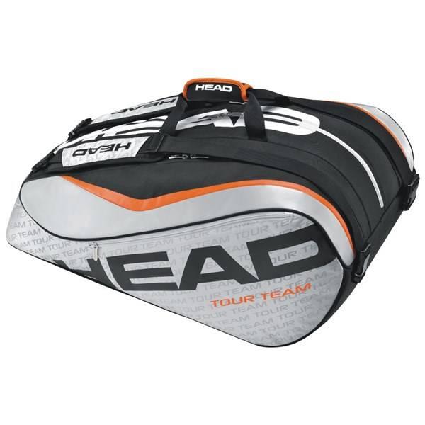 Taška sportovní Head Tour Team 12R Monstercombi černá/stříbrná