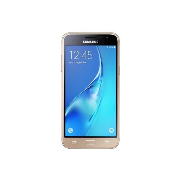 Mobilní telefon Samsung Galaxy J3 2016 (SM-J320) Dual SIM (SM-J320FZDDETL) zlatý