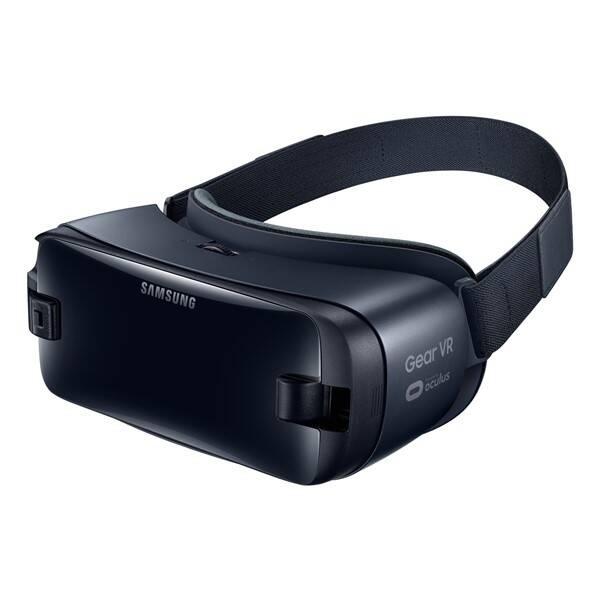 Brýle pro virtuální realitu Samsung Gear VR 2018 + Controller (SM-R325NZVAXEZ) černé (vrácené zboží 8800298002)