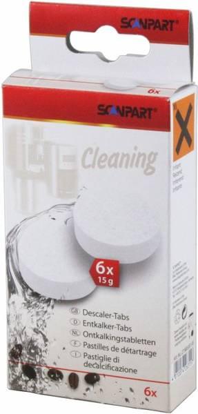 Odvápňovač pro espressa Scanpart 6 x 15 g (381470)