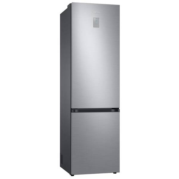 Kombinácia chladničky s mrazničkou Samsung RB38T676CS9/EF strieborná