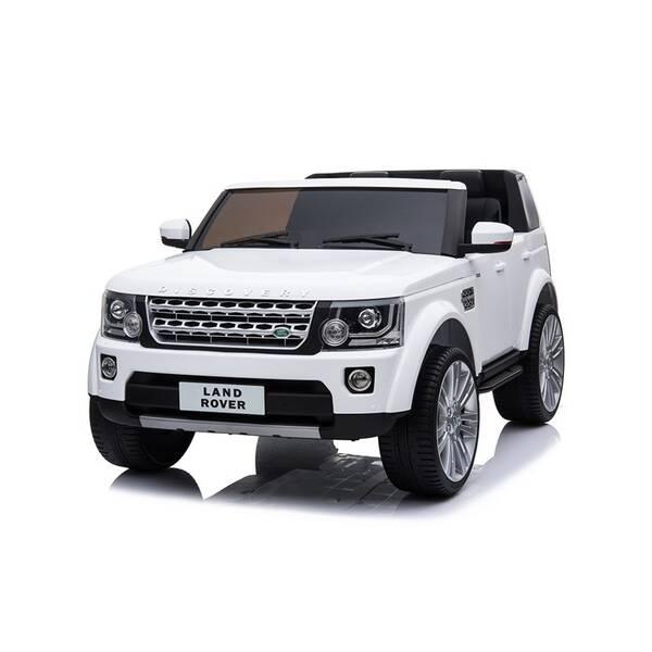 Elektrické autíčko Made Land Rover bílé