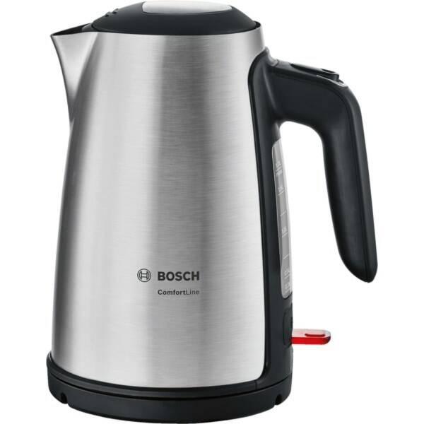 Rychlovarná konvice Bosch ComfortLine TWK6A813 černá/nerez