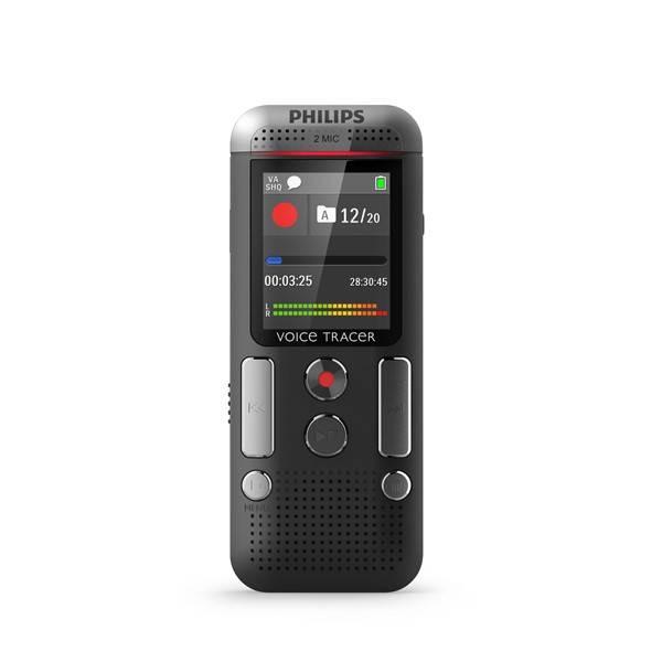 Diktafon Philips DVT2510 černý