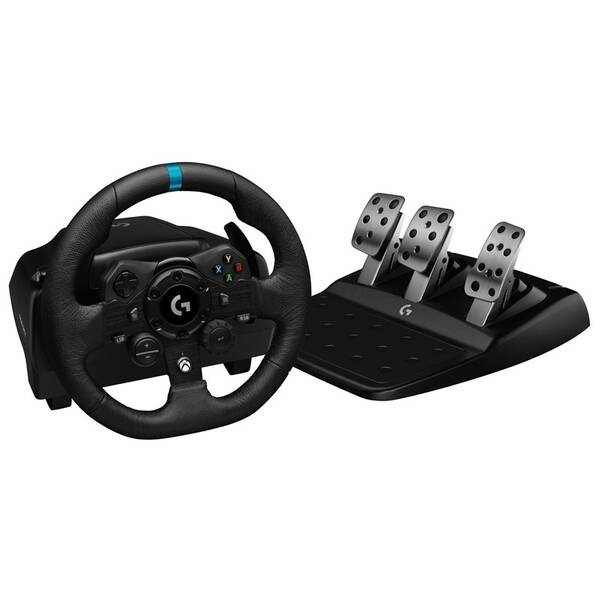 Volant Logitech G923 Racing Wheel and Pedals pro Xbox One a PC (941-000158)