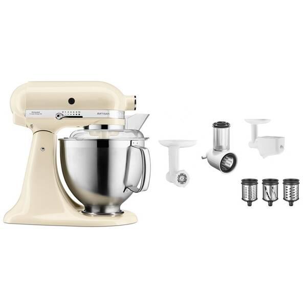 Set výrobkov KitchenAid 5KSM185PSEAC + 5KSM2FPPC