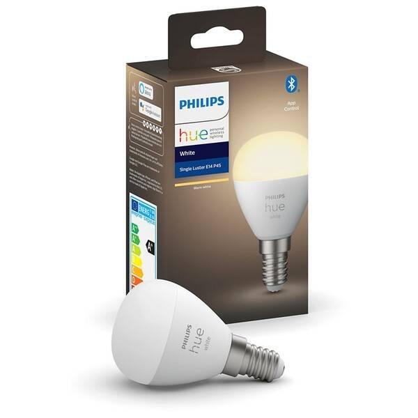 Žárovka LED Philips Hue Bluetooth, 5,7W, E14, White (8719514266889)