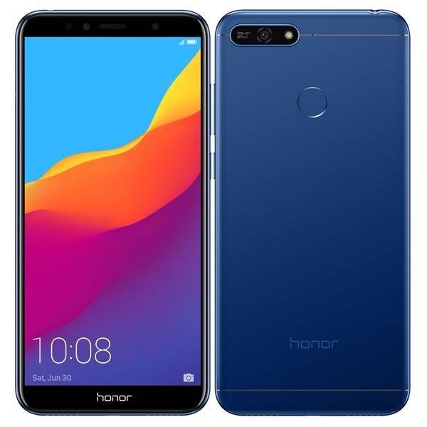 Mobilní telefon Honor 7A 32 GB Dual SIM (51092RBM) modrý (vrácené zboží 8800020654)