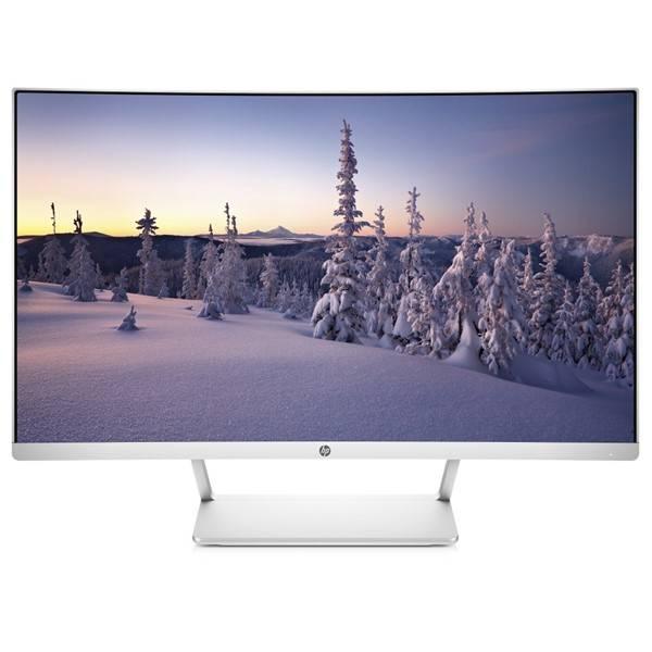 Monitor HP 27 Curved (Z4N74AA#ABB) stříbrný/bílý
