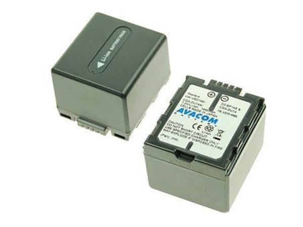 Baterie Avacom Panasonic CGA-DU14/CGR-DU14/ VW-VBD14, Hitachi DZ-BP14S Li-Ion 7.2V 1500mAh 10.8Wh černá (VIPA-DU14-532)