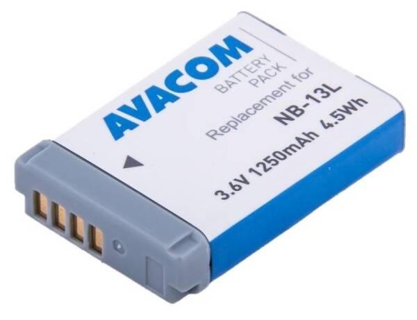 Batéria Avacom Canon NB-13L Li-Ion 3,6V 1250mAh (DICA-NB13-J1250)