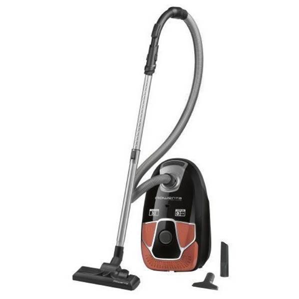 Vysavač podlahový Rowenta X-TREM Power RO6834EA černý/oranžový (vrácené zboží 8800028109)