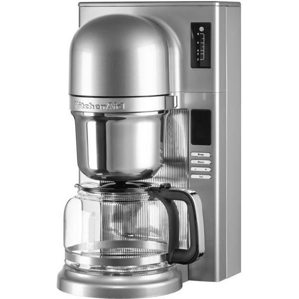 Kávovar KitchenAid P2 5KCM0802ECU strieborný