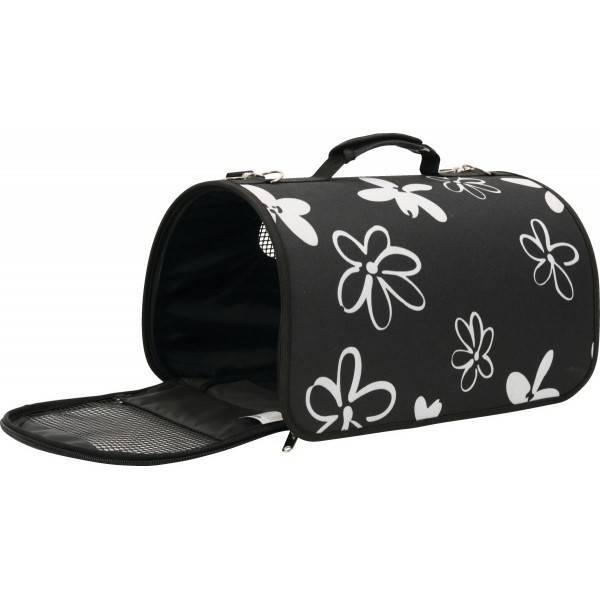 Taška cestovná ZOLUX Flower M 25 x 44 x 29 cm čierna