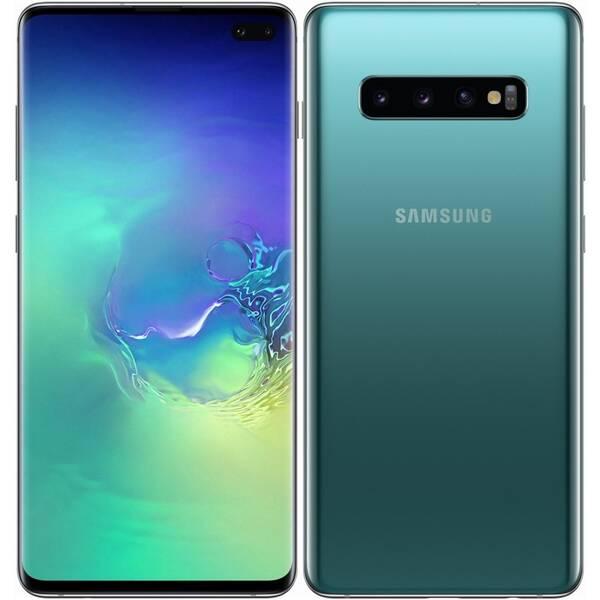 Mobilní telefon Samsung Galaxy S10+ 128 GB (SM-G975FZGDXEZ) zelený (vrácené zboží 8800301331)