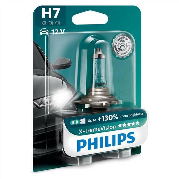 Autožárovka Philips X-tremeVision H7, 1ks (12972XV+B1)