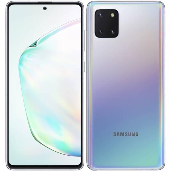 Mobilní telefon Samsung Galaxy Note10 Lite (SM-N770FZSDXEZ) stříbrný