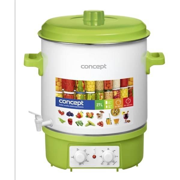 Zavařovací hrnec Concept ZH-0020 bílý/zelený