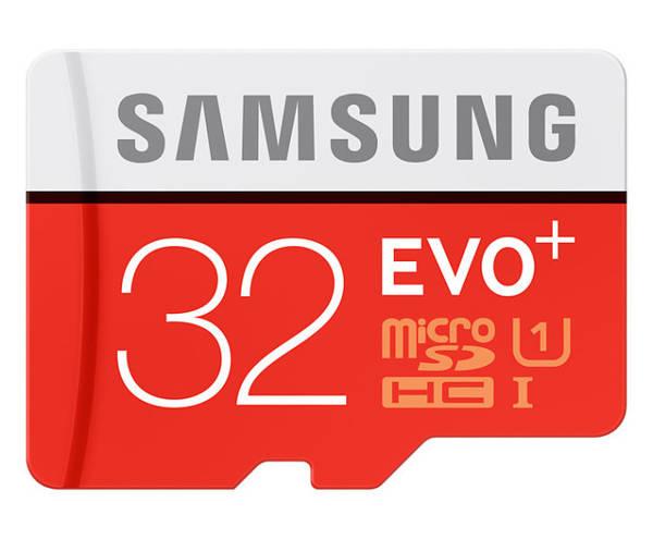 Pamäťová karta Samsung Micro SDHC EVO+ EVO PLUS Micro SDHC 32GB + adaptér (MB-MC32DA/EU)