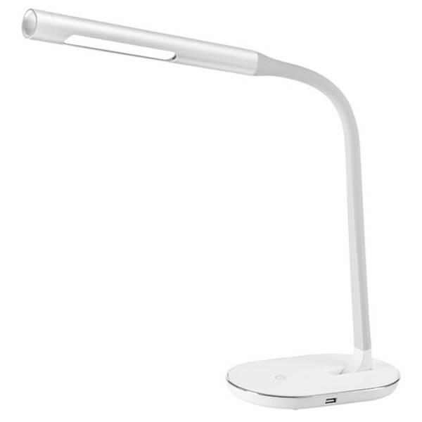 Stolná lampa Solight stmívatelná, 8W, 4500K, USB (WO50-W) biela