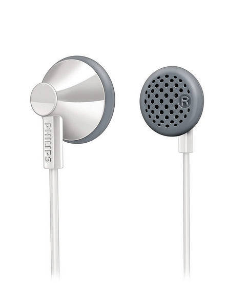 Sluchátka Philips SHE2001 stříbrná
