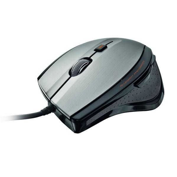 Myš Trust MaxTrack (17178) černá/stříbrná