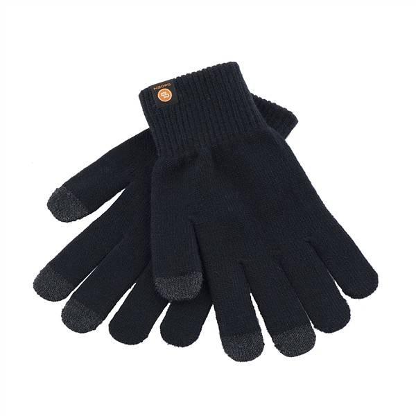 Rukavice GoGEN pro dotykové displeje velikost L (GOGRUKAVICELB) čierna farba