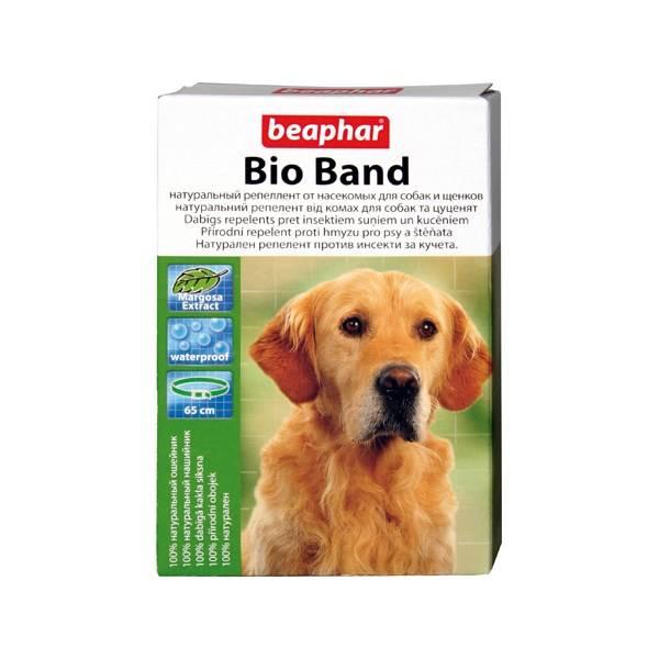 Antiparazitný obojok Beaphar Bio Band přírodní pro psy