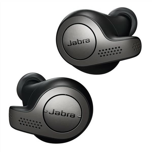 Slúchadlá Jabra Elite 65t (100-99000000-60) čierna/Titanium