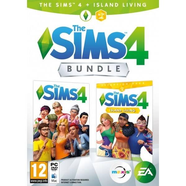 Hra EA PC The Sims 4 Základní hra + Život na ostrově (EAPC05167)