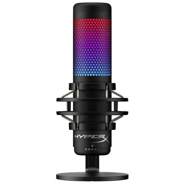 Mikrofón HyperX QuadCast S (HMIQ1S-XX-RG/G) čierny