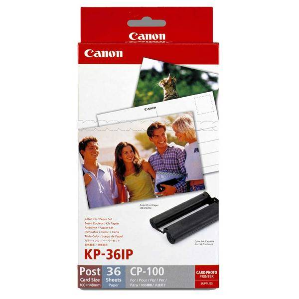 Fotopapier Canon KP36IP,10x15 cm, 36 listů pro Selphy (7737A001) biely