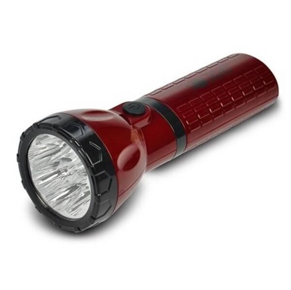 Svítilna Solight nabíjecí, 9x LED, červeno/černá (WN10) černá barva/červená barva
