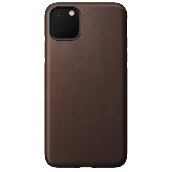 Kryt na mobil NOMAD na Apple iPhone 11 Pro Max (NM21YR0R00) hnědý