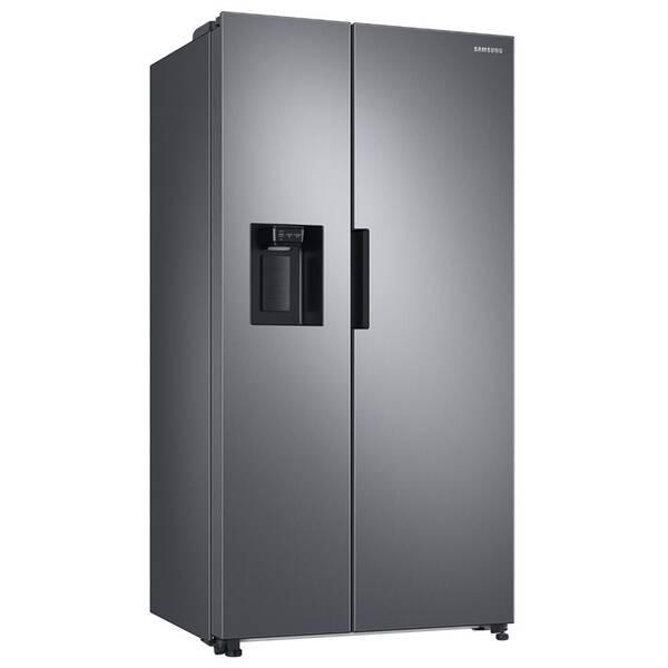 Americká chladnička Samsung RS67A8811S9/EF strieborná