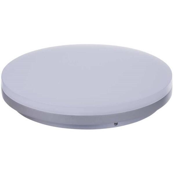 Stropní svítidlo EMOS kruh, 270 x 44 mm, 29W, 1950 lm (1539013020) stříbrné