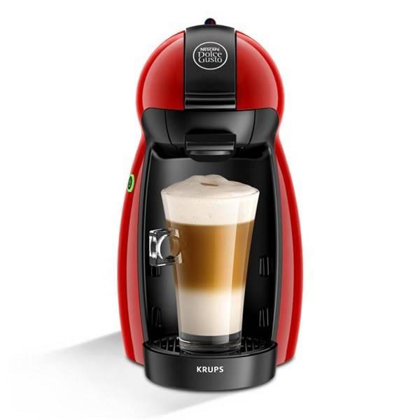 Espresso Krups NESCAFÉ Dolce Gusto Piccolo KP1006 červené