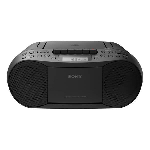 Radiopřijímač s CD Sony CFD-S70B černý (poškozený obal 3540300660)