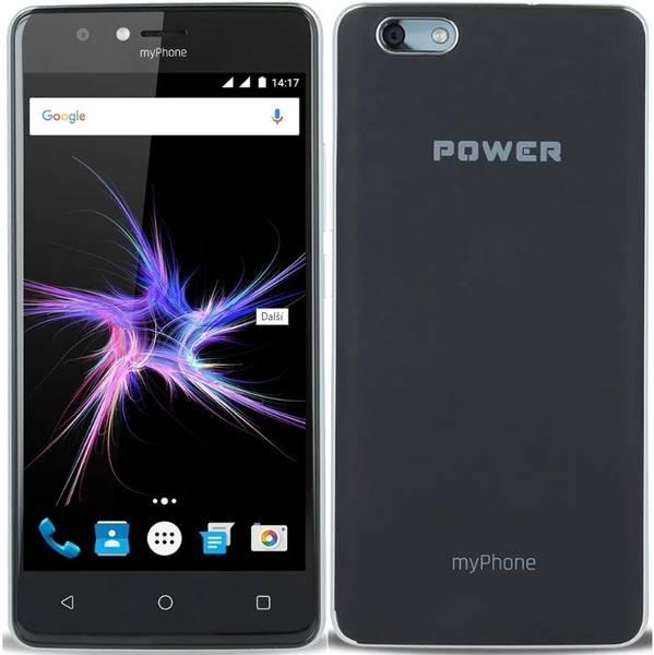 Mobilní telefon myPhone POWER Dual SIM (TELMYAPOWERBK) (vrácené zboží 8800186669)